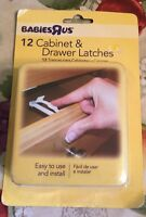 Child Safety Cabinet & Drawer Latches Babies R Us Lot Of 12 Easy To Install