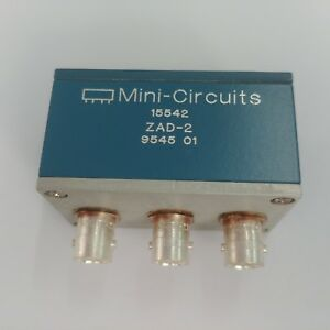 Details about Used Mini-Circuits 15542 ZAD-2 - Frequency Mixer, 1 to 1000  MHz