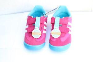 Détails sur Adidas learn 2 walk Dragon CF I Rose nourrissons Starter Baby Crib Chaussures Baskets afficher le titre d'origine