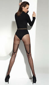 MOCK-SUSPENDER-STOCKINGS-TIGHTS-034-NELLY-034-20-DENIER-TOP-QUALITY