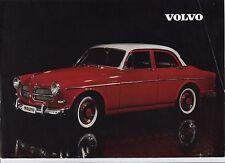 N°6448 bis / VOLVO prospectus en français 4 cylindres type B16 A  juin 1959