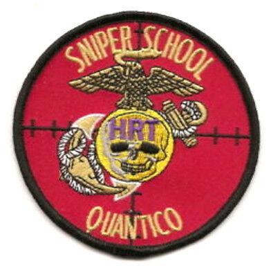 Militaria Punctual Kandahar Whacker Usmc Quantico Hrt Long Range Death Sniper School Insignia Patch A Great Variety Of Goods