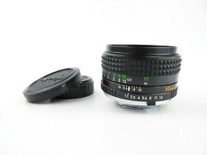 Minolta-MC-Rokkor-PF-1-1-7-50mm-Objektiv-lens-caps
