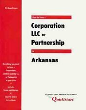 How to Form a Corporation, LLC, or Partnership in Arkansas