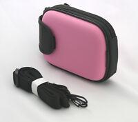 Slim Pink Semi Hard Case For Casio Exilim Digital Camera 9n Us Seller