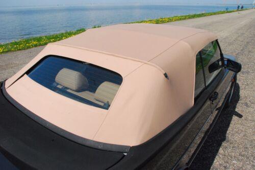 Saab 900 German canvas Convertible Top 1987-1994 Tan