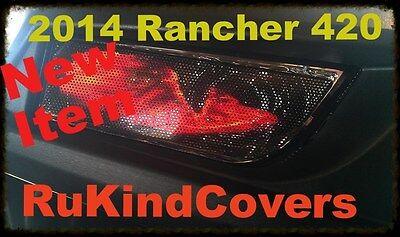 2014-17 Honda HONDA PIONEER 500 700 GREEN EYES Head light Covers Set of 2