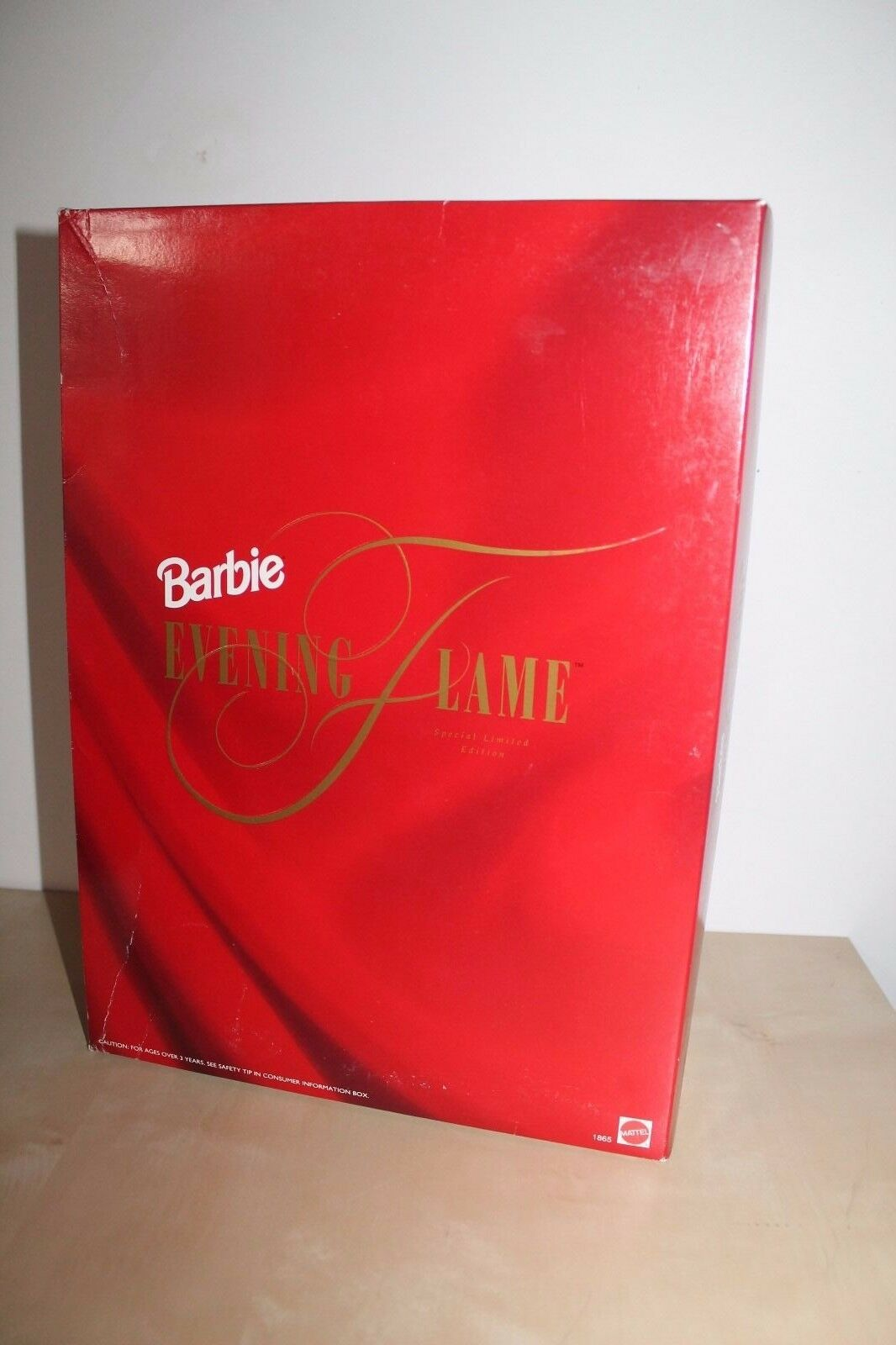 Barbie Evening Flame Red Gown Dress Special Limited 1995 Edition Mattel 1995 Limited NRFB 07ac26