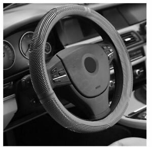 Car-Silicone-Steering-Wheel-Cover-Massager-38CM-Grey
