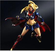 "DC Comics Variant Play Arts Kai Supergirl Kara In-Ze Statue 10"" Action Figure"