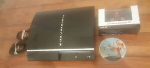 Sony Playstation 3 80GB Fat PS3 System Console Bundle w/ Controller CECHL01