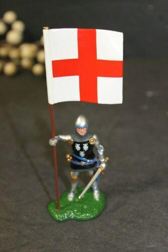 Britains Sir Thomas Strickland Medieval Knight w//St George Flag  NEW w//Box