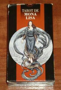 Mona-Lisa-Tarot-Tarot-de-Mona-Lisa-Rare-OOP-78-Card-Deck-New-Sealed-w-Pouch