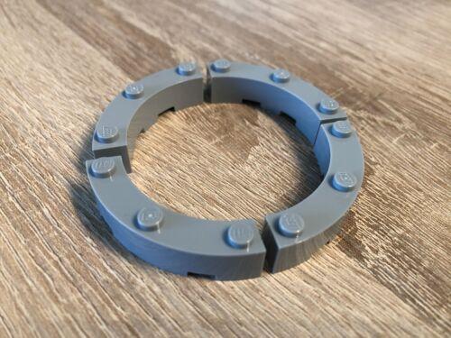 48092-4x4 Lego ® 4x Bogenstein Viertelkreis round corner hellgrau