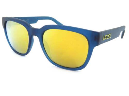 Sole Da Unisex 315 Blu L830s Mare A Opaca Occhiali Specchio Lacoste Lenti Oro SEqxFq