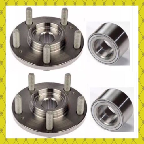 FRONT WHEEL HUB /& BEARING FOR FORD TRANSIT CONNECT 2014-2018 PAIR FAST SHIPPING