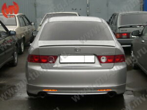 Mv Tuning Rear Trunk Spoiler Lip For Accord 7 Acura Tsx Cl7 2003