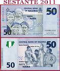 NIGERIA - 50 NAIRA 2008 - P 35c - Very scarce - Molto rara - FDS / UNC