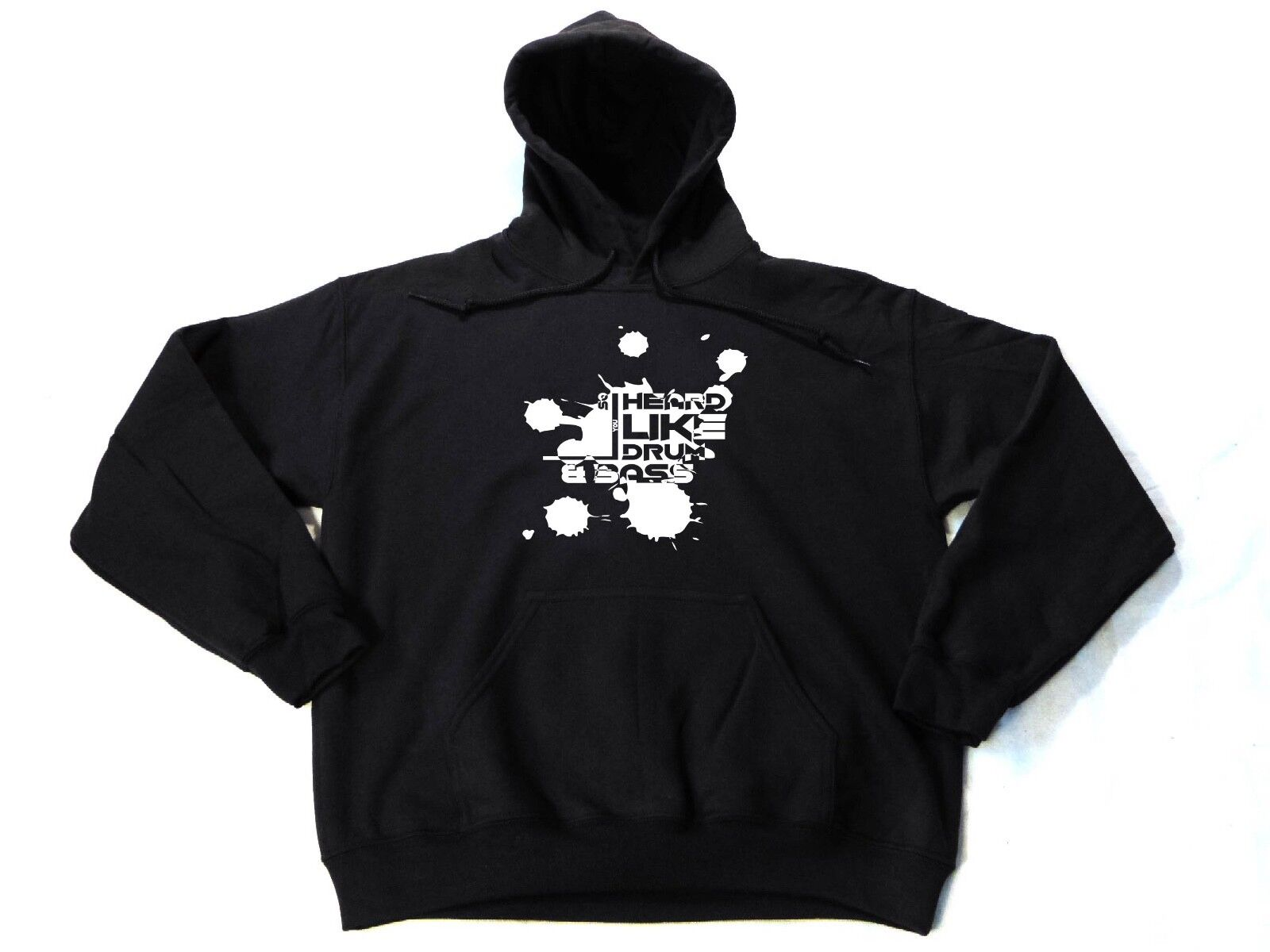 WARM HOODIES Drum And Bass HANDMADE Music Festival Party Rave Clothes Gifts