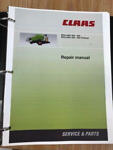 claas rollant 454 455 rollant 454 455 uniwrap baler service rh ebay com Claas Baler Hydraulic 250 Gauge Claas Baler 380