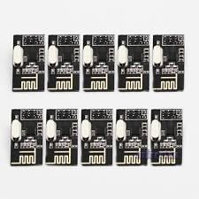 10pcs Nrf24l01 2.4ghz Antenna RF Wireless Transceiver Module for Arduino US