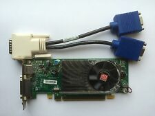 SFF DUAL DELL Y104D RADEON HD 3450 256 Mb PCIe uscita TV WINDOWS con 8 Splitter VGA