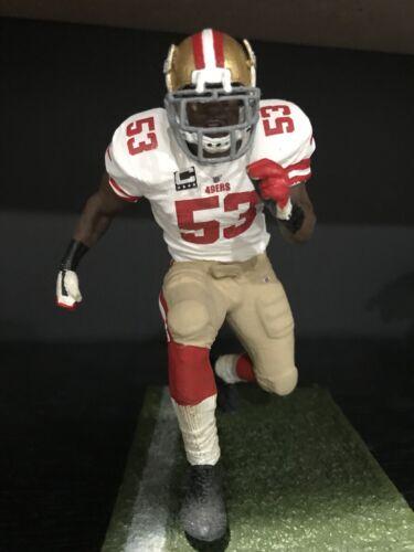 "Navarro Bowman San Francisco 49ers Jersey Custom 6/"" Mcfarlane Football Figure"