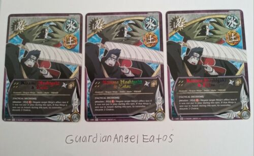 Tactical Decisions - near mint Naruto TCG//CCG x1 Kisame Hoshigaki /& Zetsu