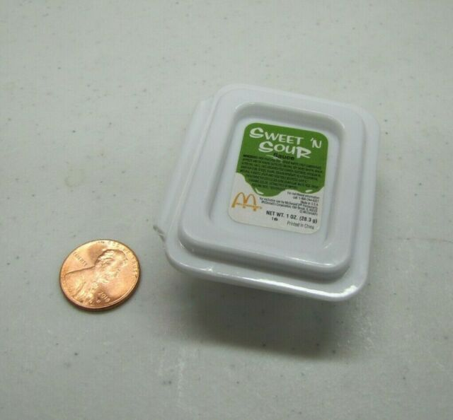 Play Food Vintage Mcdonald S Pretend Sweet Sour Sauce Toy Food Pretend Access Ebay