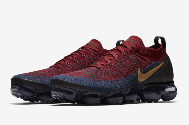 the best attitude 591d9 e6d25 Nike Air Vapormax Flyknit 2 Mens 942842-006 Team Red Blue Running Shoes  Size 10