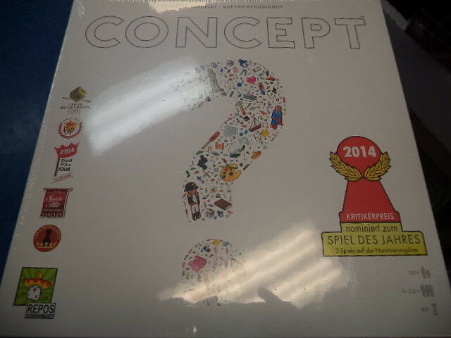 Concept - Asmodee Games Board Game New