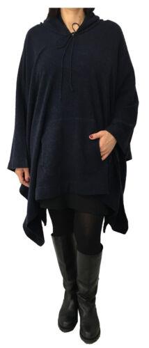 70 en avec Martino cachemire 30 Cape femmes pour laine fabriqué Italie capuche Gaia IPYaqUxq