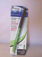 Maybelline Define-a-line Eyeliner 805 Brownish Black