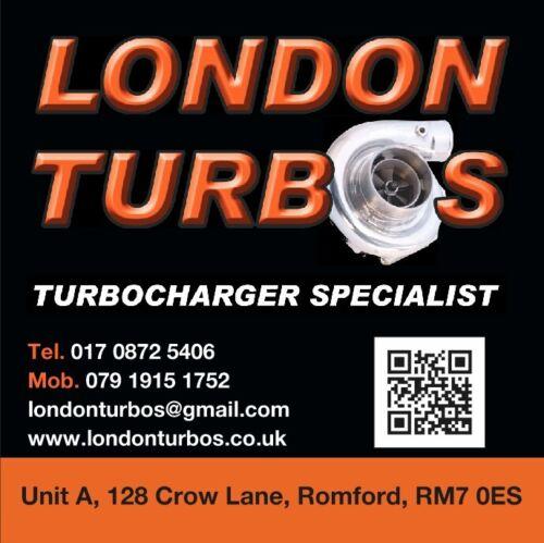 Chevrolet Vauxhall Hyundai 2.0 123//150HP 771903 Turbocharger cartridge CHRA