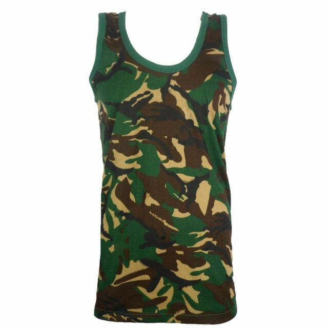 7e452757fb99b Mens Camouflage Vest Sleeveless Muscle Top Jungle Combat Military ...