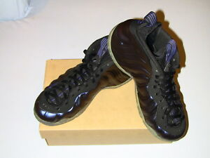 competitive price d0846 28c7a Image is loading 2009-Nike-Air-Foamposite-One-Penny-Hardaway-Eggplant-