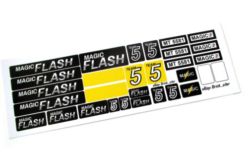 Models Very nice! STICKERS for LEGO 5581 Magic Flash Custom Builds etc