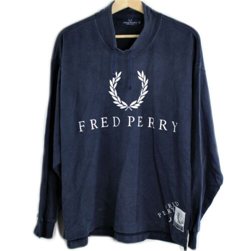 Authentic Vintage Fred Perry Spell Out Color Block