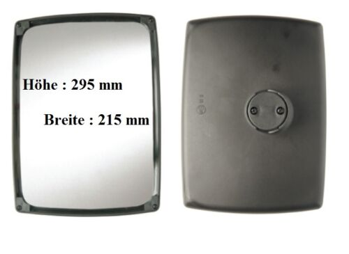 Los espejos retrovisores espejo de sustitución adecuado para New Holland TS y TM 295x215 ø14-30