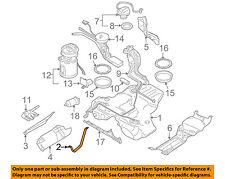 AUDI OEM 97-02 A4 Quattro 1.8L Fuel System-Fuel Tank Mounting Strap 8D0201654Q