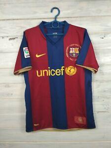dos semanas tienda Aliviar  Camiseta De Barcelona 2007 2008 Hogar Camiseta De Fútbol Nike 237741-655 S  | eBay