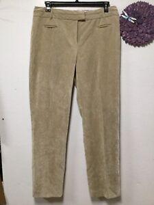 af2922de447 Womens corduroy style pants size 16 average beige straight leg Cato ...