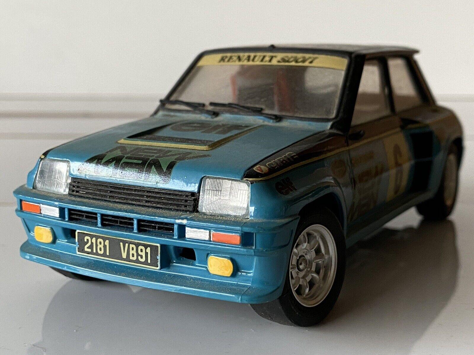 Tamiya 1 24 Renault 5 Turbo Rally Model Kit For Sale Ebay