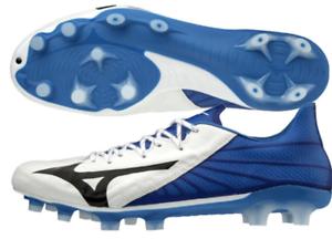 Mizuno Japón Rebula 3 Fútbol Balonpié Zapatos Canguro P1GA1960 blancoo Azul