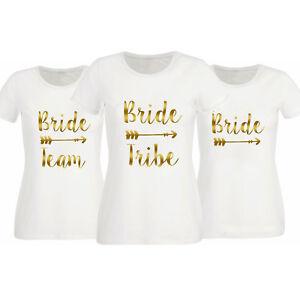 9ad8d3932d Women Hen T Shirts Hen Do Party Bride Tribe Night T-shirt ...
