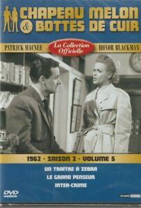 5 volume Et De Chapeau 1962 Melon saison Bottes sur Cuir Détails 2 Dvd iXuOPkZT