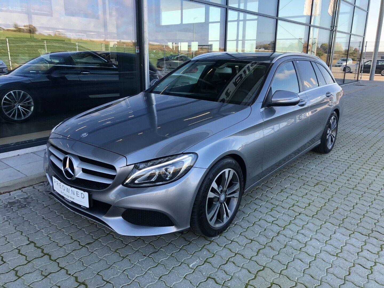 Mercedes C200 1,6 BlueTEC Avantgarde stc. aut. 5d - 214.995 kr.