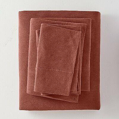 King Tencel Solid Sheet Set Clay Casaluna
