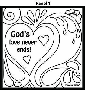 Details about Christian Gospel Tract Origami Art Card - God's Love Never  Ends - 12/PK 30103