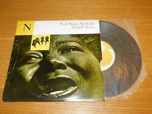Details about NEUF NEGRO SPIRITUALS GOSPEL SONGS blind boys DIXIE HUMMING  BIRD b campbell JAZZ